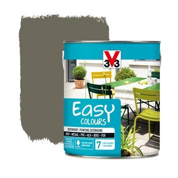 V33 Easy Colours buitenverf zijdeglans taupe 2,5 L