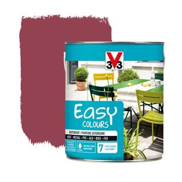 Peinture pour l'extérieur V33 Easy Colours  hibiscus satin 2,5 L