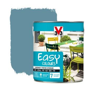 Peinture pour l'extérieur V33 Easy Colours bleu fjord satin 2,5 L