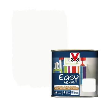 V33 Easy Fashion dekkende vernis zijdeglans wol wit 0,5 L