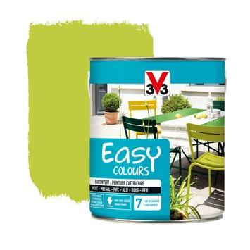 V33 Easy Colours buitenverf zijdeglans absint 2,5 L