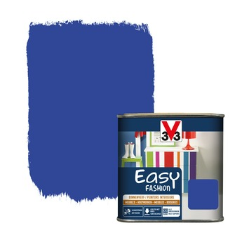 Vernis opaque V33 Easy Fashion bleu électrique satin 500 ml