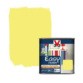 Vernis opaque V33 Easy Fashion jaune fluo satin 500 ml