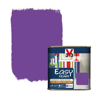 V33 Easy Fashion dekkende vernis zijdeglans ultraviolet 0,5 L