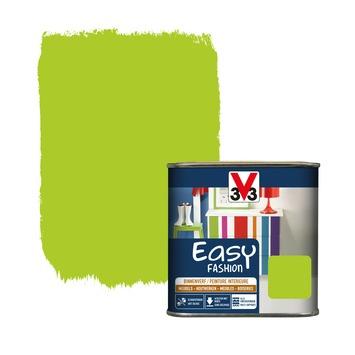 V33 Easy Fashion dekkende vernis zijdeglans disco groen 0,5 L