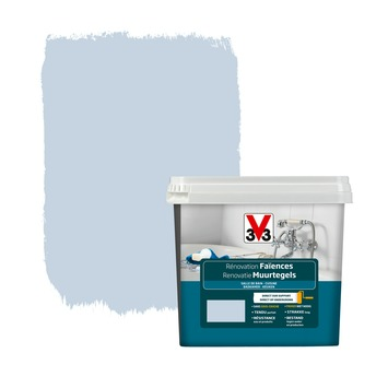 Peinture de rénovation faïences V33 brume satin 750 ml