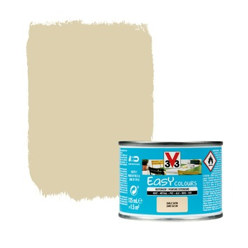 Peinture pour l'extérieur V33 Easy Colours  sable satin 125 ml