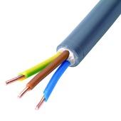 Câble XVB-F2 gris 3G 2,5 mm² 25 m