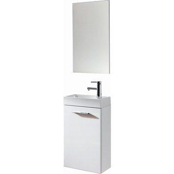 Handenwassermeubel Egis 40 cm wit