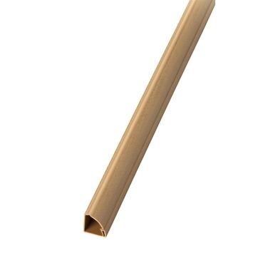 D-line kabelgoot kwart 22x22 mm 2 m houtkleur