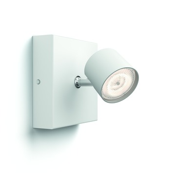 Philips Opbouwspot MyLiving Star LED Wit 4.5W