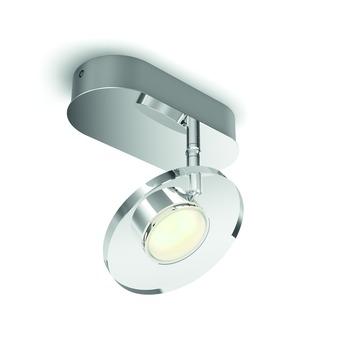 Philips opbouwspot Glissette met geïntegreerde LED 4,5 W chroom