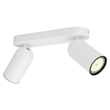 Philips Opbouwspot MyLiving Pongee LED Wit 2 x 5.5W