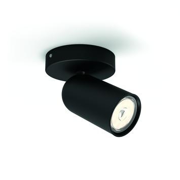 Philips Opbouwspot MyLiving Pongee LED Zwart 5.5W