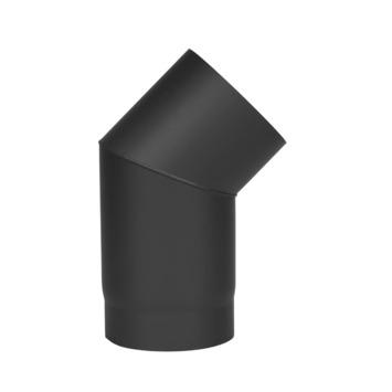 Coude pour conduit simple paroi Livin'Flame  45° 150 mm