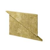 Panneau Rockwool Rockroof delta 6x50x80 cm 4 m² Rd=1,7 10 pièces
