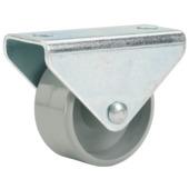 Bokwiel met plaat 25 mm 40 kg