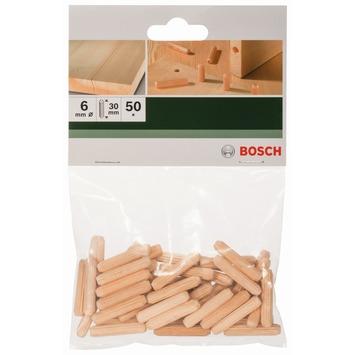 Bosch deuvel 6x30 mm 50 stuks