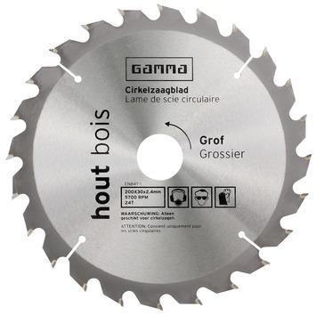 GAMMA zaagblad T24 200x30/16x2,4 mm