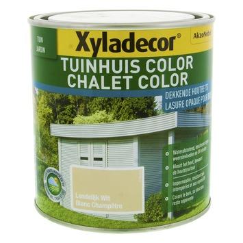 Xyladecor Tuinhuis Color Landelijk Wit 1L