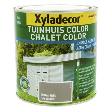 Xyladecor Tuinhuis Color Mistral Grijs 1L