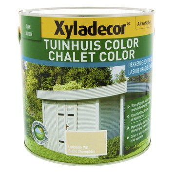 Xyladecor Tuinhuis Color Landelijk Wit 2,5L