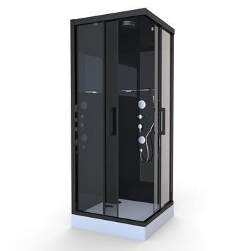 Aurlane douchecabine Black Mirror 2 90x90 cm