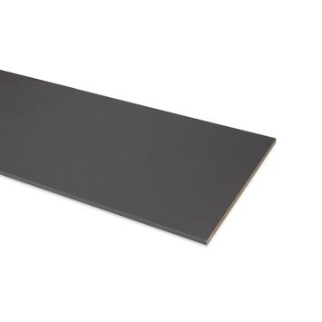 Panneau de meuble finition 2x ABS 18 mm 240x40 cm anthracite