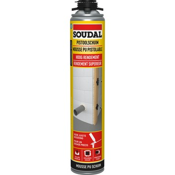 Mousse PU pistolable Soudal
