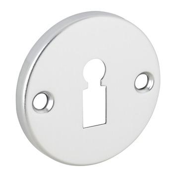 Rosace entrée de clé aluminium 2 pièces