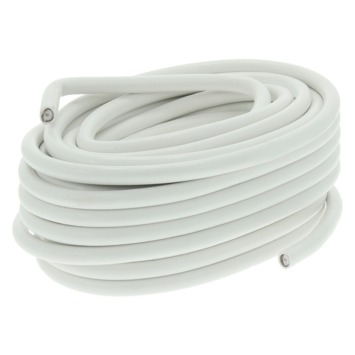 Q-Link coaxkabel Telenet indoor wit - lengte 50 m