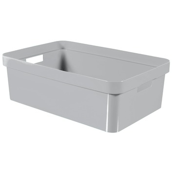 Curver Infinity opbergbox 30 liter grijs