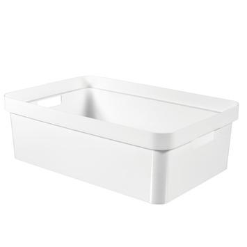 Boîte de rangement Infinity Curver 30 L blanc