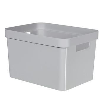 Boîte de rangement Infinity Curver 17 L gris