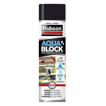 Rubson aquablock spray zwart 300 ml