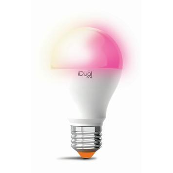 Ampoule poire iDual One Classic E27 9,5 W = 60 W 806 Lm avec télécommande