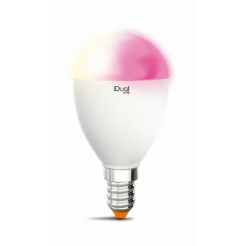 iDual One LED kogellamp E14 5,3 W = 25 W 400 Lm inclusief afstandsbediening