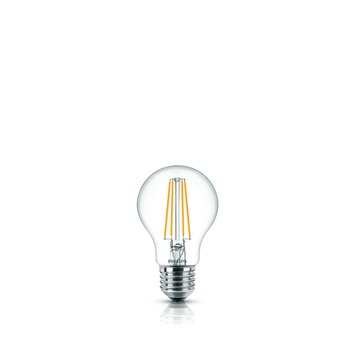 Philips LED peerlamp met filament E27 6 W = 60 W 806 lumen duopack