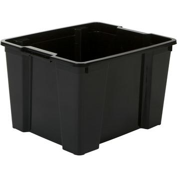 Handy opbergbox 30 liter zwart