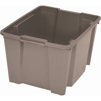 Handy opbergbox 30 liter taupe