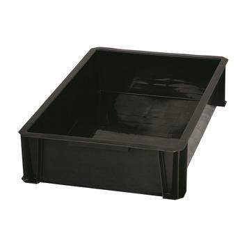 Boîte de rangement empilable 18 L noir