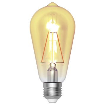 Handson LED filamentlamp Edison gold E27 4 W = 37 W 420 Lm
