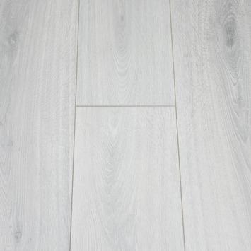 GAMMA Waterbestendig Laminaat Licht Grijs Eiken 4V-groef 8 mm 2,13 m2