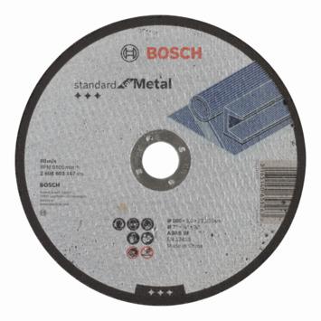 Bosch slijpschijf metaal 180x3x22 mm