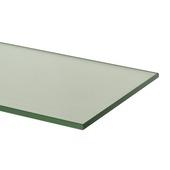 Tablette en verre Duraline 4xS translucide 6 mm 60x15 cm