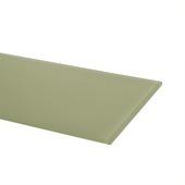Duraline glaspaneel 4xS rechthoek crystal 6 mm 60x15 cm