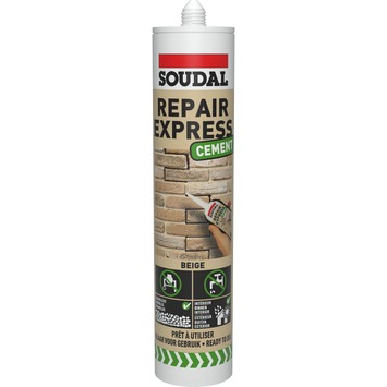 Soudal Repair Express vulmiddel cement beige 300 ml