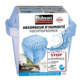 Absorbeur d'humidité classic Rubson 20 m² + tabs 450g