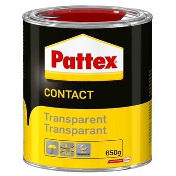 Colle contact transparente Pattex 650 g
