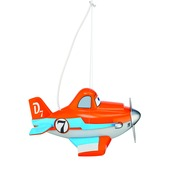 Suspension Disney Philips Planes LED intégrée 3W orange